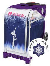 ZUCA Bag FOREVER SKATE Insert & Purple Frame w/Flashing Wheels-FREE SEAT CUSHION