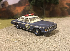 1977 Pontiac LeMans Police Custom Weathered Rusty Barn Find 1/64 Diecast Car
