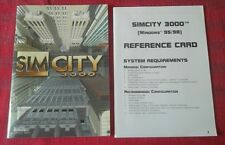 Sim City 3000 PC Game Manuals