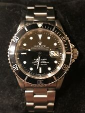 Authentic Rolex Submariner Date 16610 Stainless Steel Wrist Watch