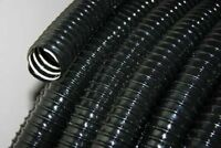 Standard Metric Ribbed Black Pond Hose 1 1/4 Inch (32mm) or 98 Foot (30m) Coil
