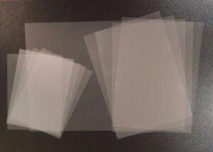 A5/A4 Clear Acetate Transparent Sheets-Thin Flexible Plastic Window PVC Film