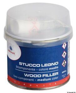 Stucco legno bicomponente medio 250 ml ( 65.520.13 )