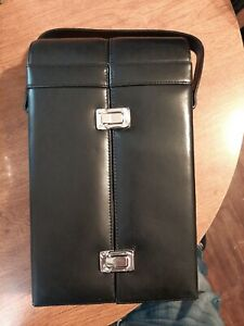 Genuine Leather Double Wine Carrying Case greektown casino Detroit