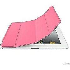 Apple Polyurethan Smart Abdeckung für IPAD - Pink