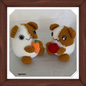 Handmade Toy Hamster Crochet