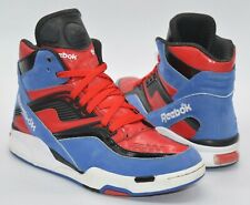 Reebok SPIDERMAN Twilight Zone Pump Blue/Red/Black/White Omni Rare Retro sz 9