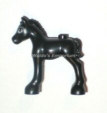 Lego Friends MiniFigure Animal, Newborn BLACK FOAL 41123, Horse, New