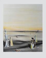 Yves Tanguy Die Luft in Ihrem Spiegel Kunstdruck Poster Bild Lichtdruck 60x48cm