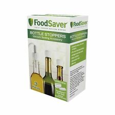 FoodSaver Bottle Stoppers, 3 Pack
