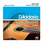 D'Addario EJ83L Gypsy Jazz Acoustic Guitar Strings, Ball End, Light, 10-44 for sale