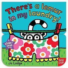 Slide and Seek: There's a Lemur in My Laundry-ExLibrary