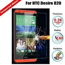 2pcs X Tempered Glass Screen Protector Guard Film For HTC Desire 820 820S 820T