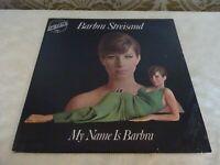 Barbara Streisand My Name is Barbara Original Album LP Record Vinyl