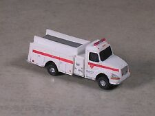 N Scale  White with Red Stripe Sterling Fire Pumper
