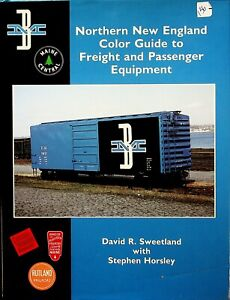 DR135 MORNING SUN BOOKS NORTHERN NEW ENGLAND COLOR GUIDE FREIGHT AND PASSENGER