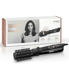 Babyliss 2777U Big Hair Rotating Hot Air Brush 42mm Hair Styler Soft Bristles