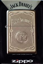 Zippo Feuerzeug Jack Daniels Nr. 60000700 Spring 2015 Chrome high polished, Neu