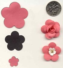 Medium Ume / Plum Blossom Paper Punch 5 Petal Quilling-Scrapbook-Cardmaking