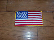"U.S AMERICAN FLAG ARM PATCH 3""X 5"" FULL COLOR"