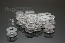 20 Nähmaschinenspulen für AEG Nähmaschinen 20x11 Spulen aus Kunststoff NEU