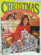 Christmas Year Round Needlework & Craft Ideas Magazine January February 1993