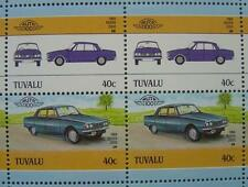 1964 ROVER P6 2000 Saloon Car 50-Stamp Sheet / Auto 100 Leaders of the World