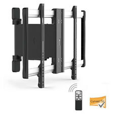 """Lithe Audio Motorised Curved & Flat Panel TV Wall Mount - Up To 60"""""""