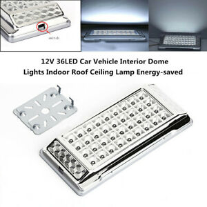 12V 36LED Car Vehicle Dome Bright Lights Indoor Roof Ceiling Lamp Energy-saved