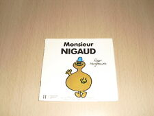 """Monsieur NIGAUD Roger Hargreaves Collection """"Bonhomme"""""""
