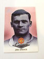 Manchester United Futera Platinum 1999 Greatest Card (J/S)