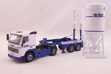 JOAL 350 - Volvo FH12 420 Concrete Silo Placing Unit M-Tec Diecast - Scale 1:50