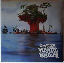 Gorillaz-PLASTIC BEACH 2lp Nuovo/Scatola Originale/SEALED vinile gatefold Blur Damon Albarn