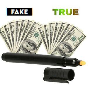 Counterfeit Bill Detector Pen Detection Counterfit Marker Fake Money Tester