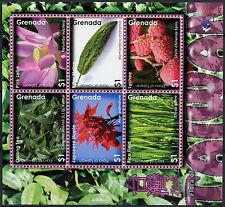 Grenada 2008 Flowers MNH Sheet #A88453