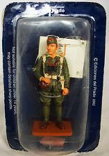 Figurine Del Prado soldat plomb Lieutenant Légion Etrangère Espagne 1922 Figure