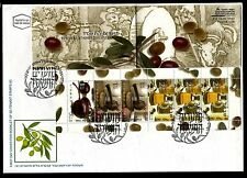 Israel FDC 2003 Festivals-Olive oil, booklet. x20092