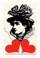 "Cuban decor Graphic Design movie Poster 4""Jealousy ITALIAN Style""Love art"