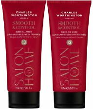 Charles Worthington Smooth & Control LEAVE IN TREATMENT x 2 - 150ml each
