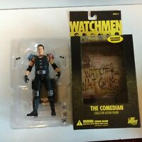 COMEDIAN UNMASKED EXCLUSIVE VARIANT WATCHMEN MOVIE ACTION FIGURE DC DIRECT 2009