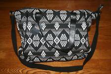 Hollister Women's Black White Gray Tote book bag backpack shoulder bag travel