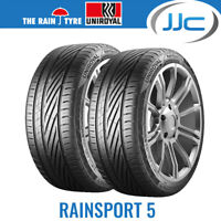 2 x Uniroyal RainSport 5 Wet Weather Road Tyres 225/45/17 94Y XL