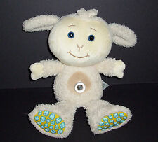 "13"" Tiny Love Tickle Lamb MagIQ Talking Singing Plush Light Up Belly Button Song"