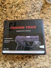 Crimson Trace Ltg779 Lightguard White Led Ruger Lcp Pistol (Read Description)