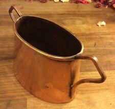 Small Arts & Crafts Solid Copper Vase