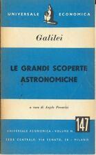 LE GRANDI SCOPERTE ASTRONOMICHE GALILEO GALILEI A139
