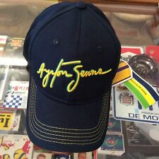 AYRTON SENNA SIGNATURE NAVY BLUE CAP BRAND NEW