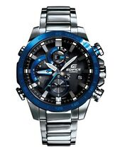 BRAND NEW CASIO EDIFICE EQB800DB-1A MENS BLUETOOTH ANALOG STAINLESS STEEL WATCH