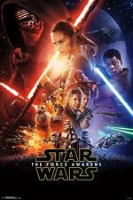 STAR WARS - FORCE AWAKENS - ONE SHEET MOVIE POSTER - 24x36 - NO DATE 14353