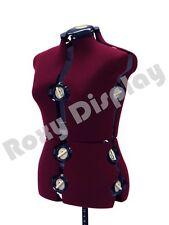 Adjustable Sewing Dress Form Female Mannequin Torso Stand Medium Size Jf Fh 8